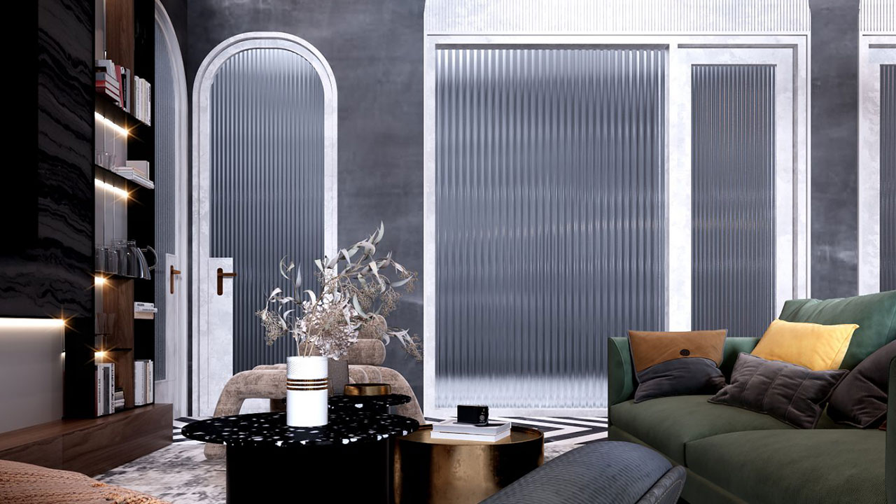 Latest Home Interior Trend: Fluted Glass Ideas for a Stylish Home